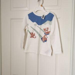 2/$20 BNWT Old Navy Long sleeve shirt size 4